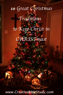Christ In Christmas.Family Christmas Traditions Keeping Christ In Christmas