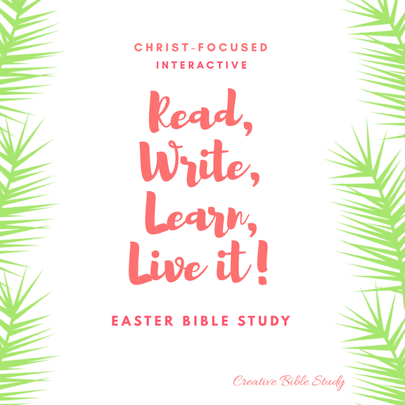 Countdown to Easter Bible Study Lessons