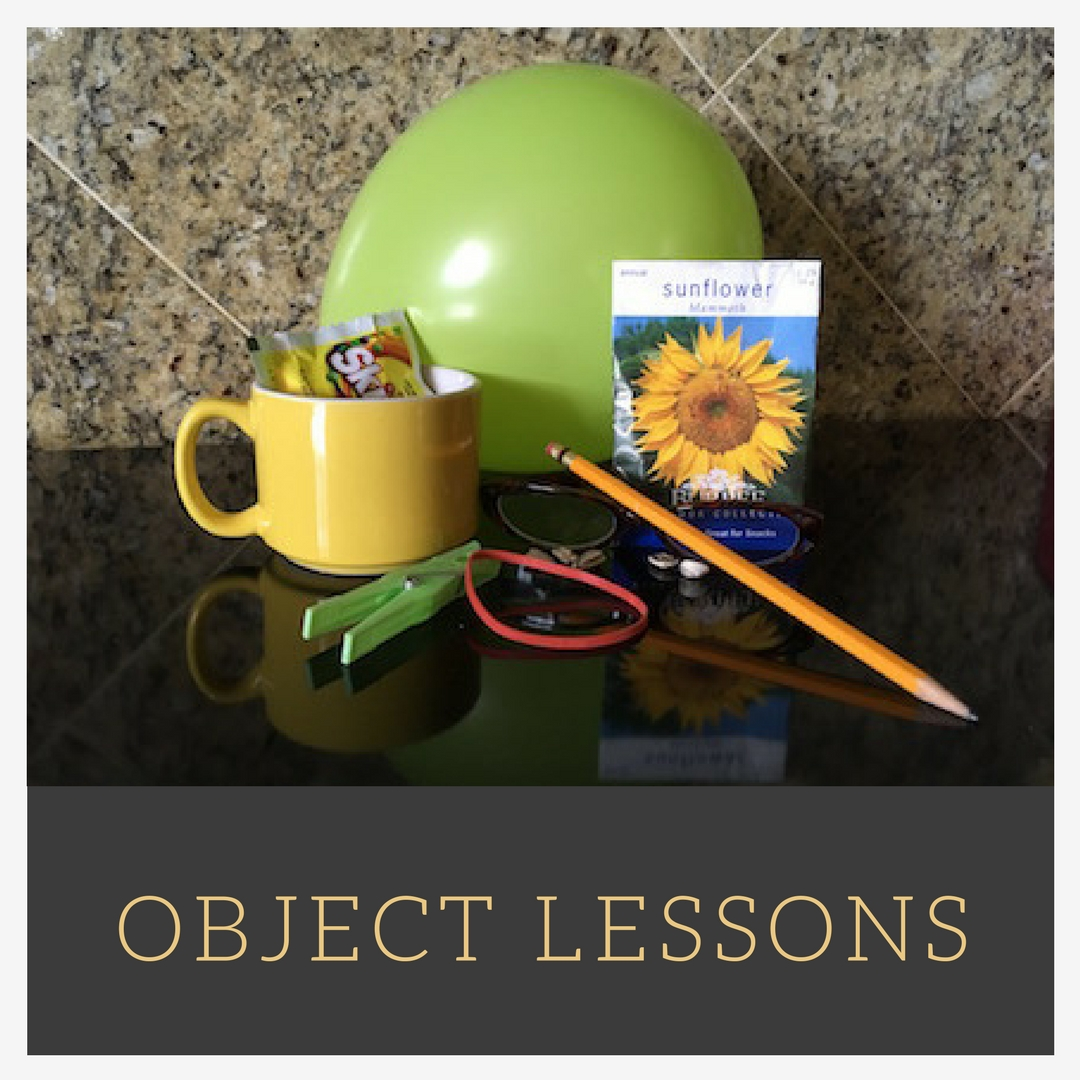 Object Lessons A-Z to Teach Bible Truth
