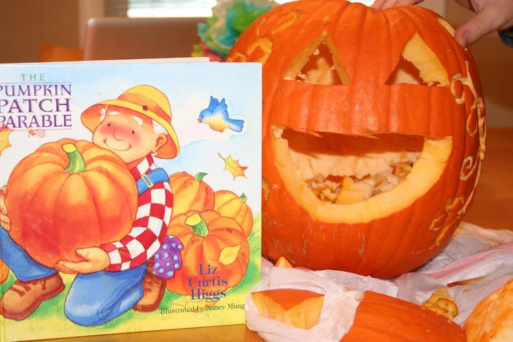 picture regarding Pumpkin Gospel Printable named Christian Item Lesson - Pumpkin Gospel