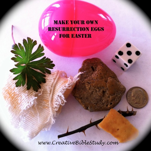Christian easter lessons ideas for family church christian easter story eggs negle Image collections