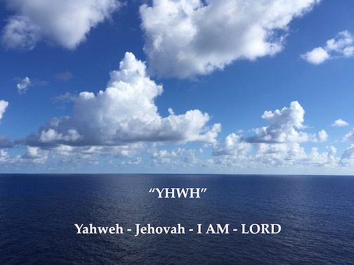 Names Of God Yahweh Jehovah