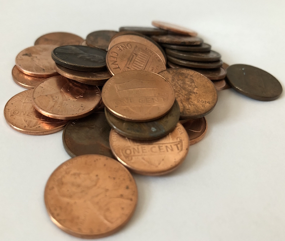 Object Lesson with Pennies - You're Worth It!