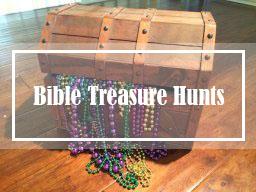 Bible Treasure Hunt & Scavenger Hunt Ideas