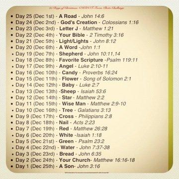 Christian CHRISTmas Countdown
